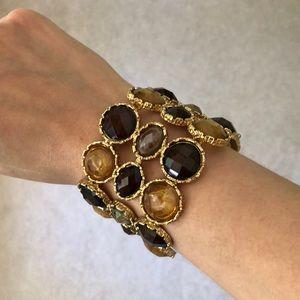 Jewelry - Handmade Designer Gemstone Statement Bracelet